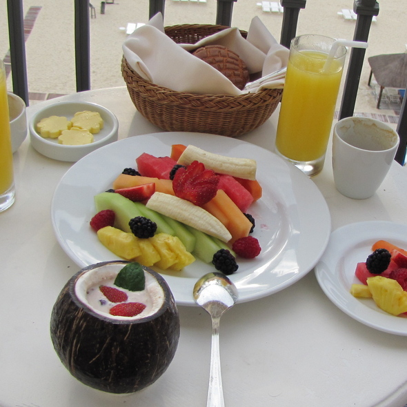 Breakfast - The Club Grill - The Ritz-Carlton Cancun, Cancún, ROO