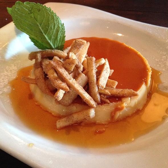Cinnamon Cream Cheese Flan - Talavera Cocina Mexicana, Coral Gables, FL