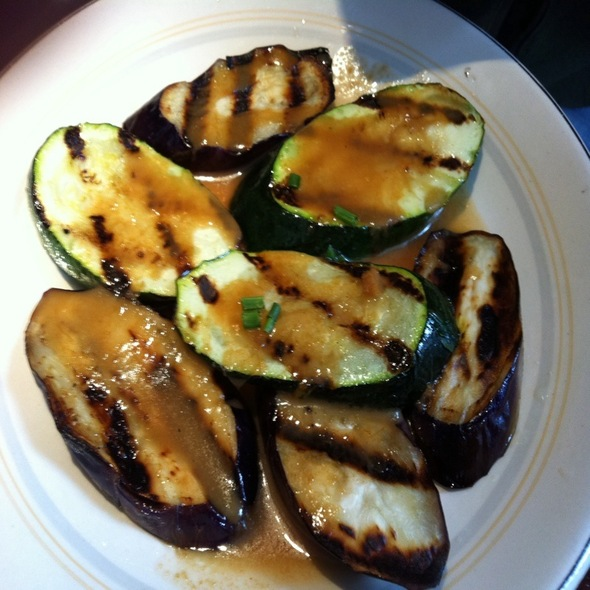 Grilled Zucchini And Eggplant  - Elephant & Castle - New York, New York, NY