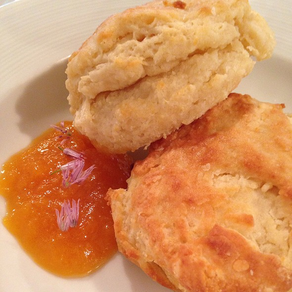 Buttermilk Biscuits With Apricot Jelly - Corner Table, Minneapolis, MN