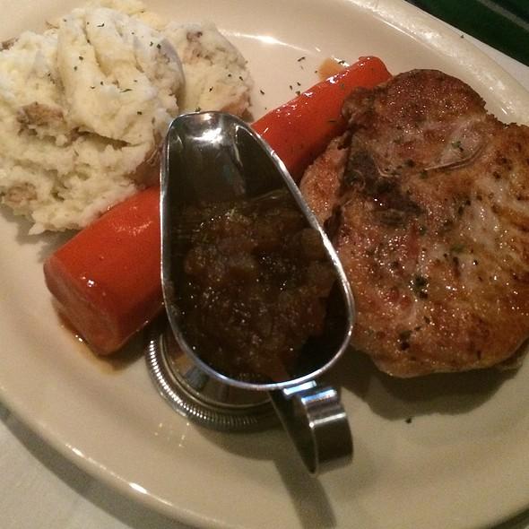 Pork Chops - Bob's Steak and Chop House - Omni Tucson National Resort, Tucson, AZ