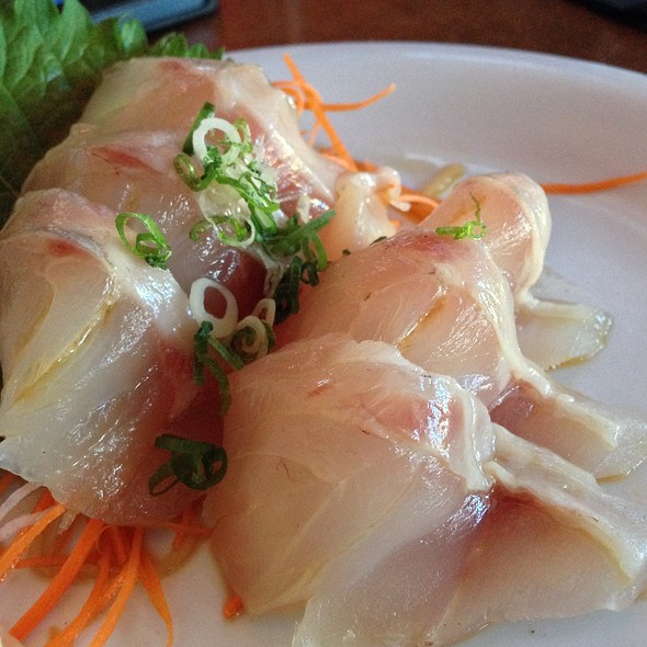 Red Snapper Sashimi - Sapporo - Scottsdale Main Dining Room, Scottsdale, AZ