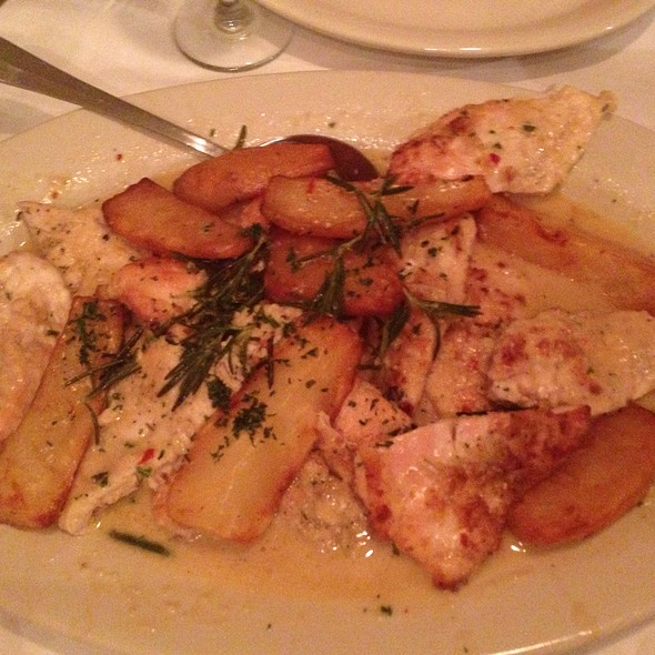 Lemon Pepper Roasted Chicken With A Rosemary Glaze And Mashed Potatoes  - Mia Francesca, Chicago, IL