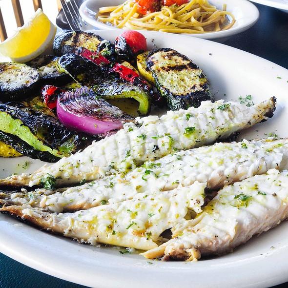 Sea bass - La Notte Cafe, Berwyn, IL