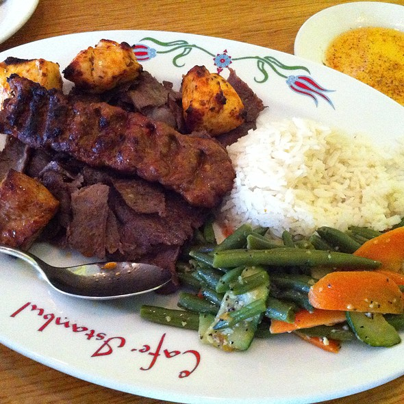 Mixed Grill - Istanbul Cafe, Indianapolis, IN
