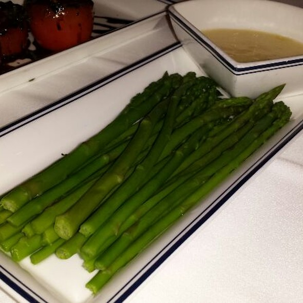 Asparagus and Hollandaise Sauce - NYY Steak, Coconut Creek, FL