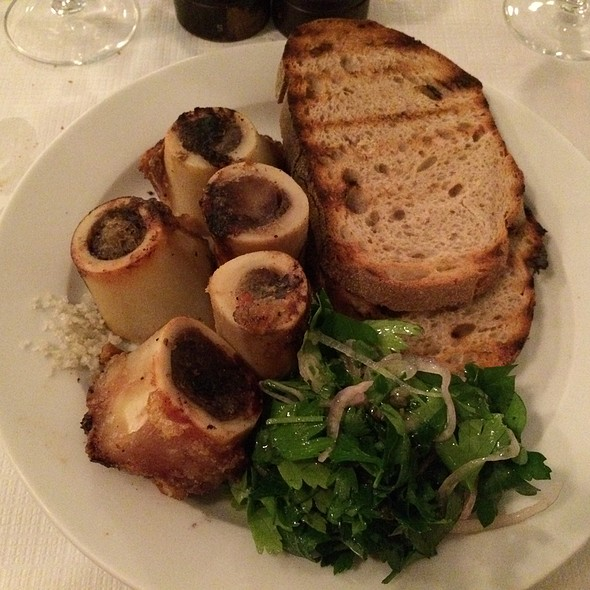 Roast bone marrow & parsley salad - St. John, London