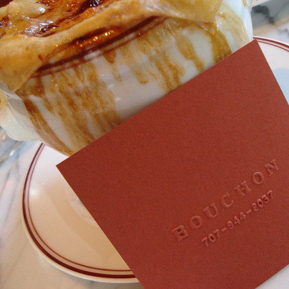French Onion Soup - Bouchon, Yountville, CA