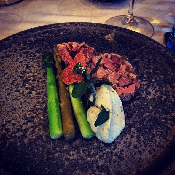 Head Cheese With Asparagus - Raymonds Restaurant, St. John's, NF