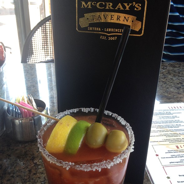 Bloody Mary - McCray's Tavern on the Square, Lawrenceville, GA