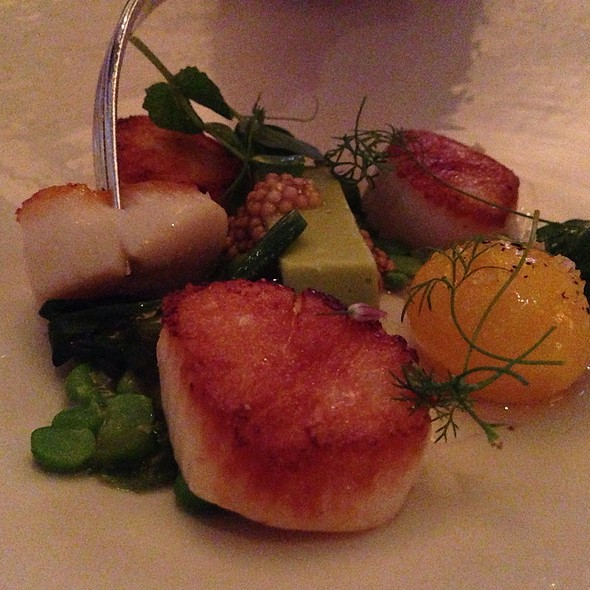 Scallops Appetizer - L'Espalier, Boston, MA