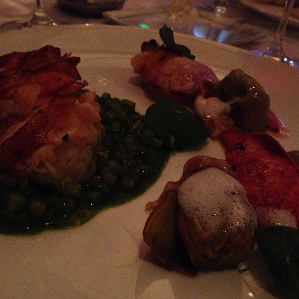 Lobster Entree - L'Espalier, Boston, MA