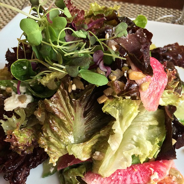 Salad Of Organic Lettuces - MiLa, New Orleans, LA