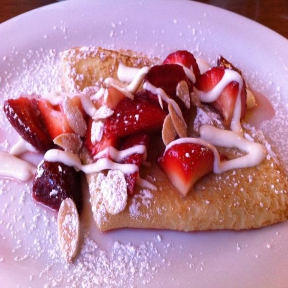 Strawberry Crepes - A la Maison Bistro, Ardmore, PA