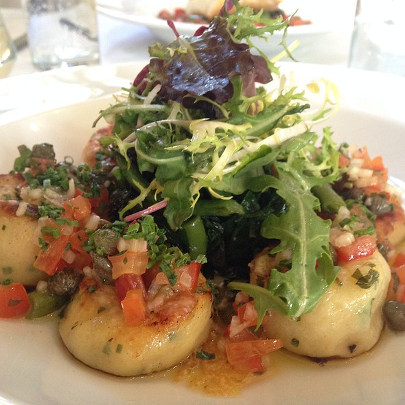 Gnocchi With Tomatoes And Capers - The Peasant, London