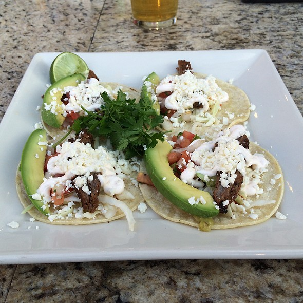 street tacos - Rock Bottom Brewery Restaurant - Milwaukee, Milwaukee, WI