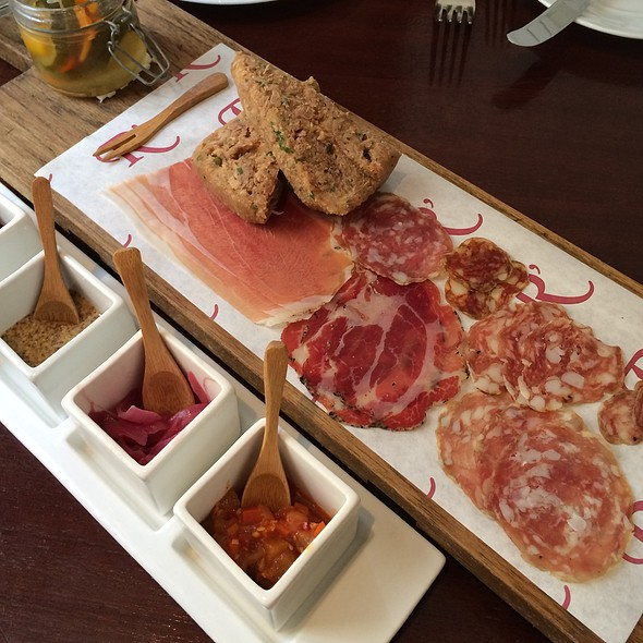 Salumi Solo Board - Restaurant R'evolution, New Orleans, LA