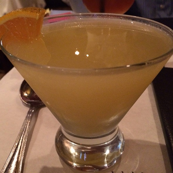 Fresh Orangetini - Don't Tell Mama NYC, New York, NY