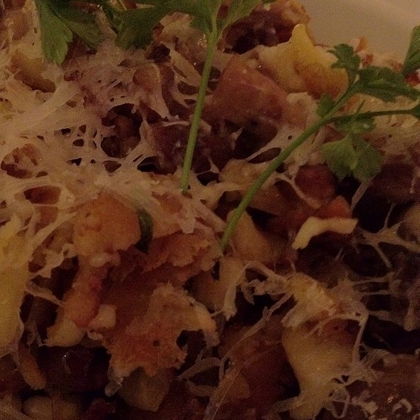 Spaetzle With Lamb, Mint, Olives - Storico, New York, NY