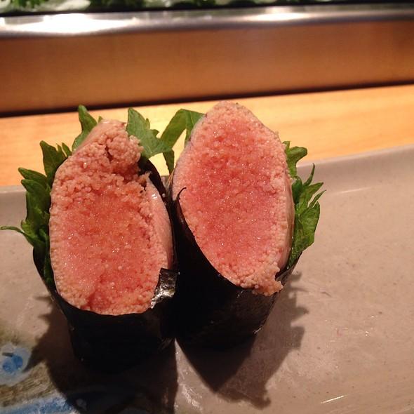Mentaiko Sushi  - Sushi Sho, El Cerrito, CA
