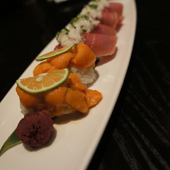 Sea Urchin and Tuna Belly - Oishii Boston, Boston, MA