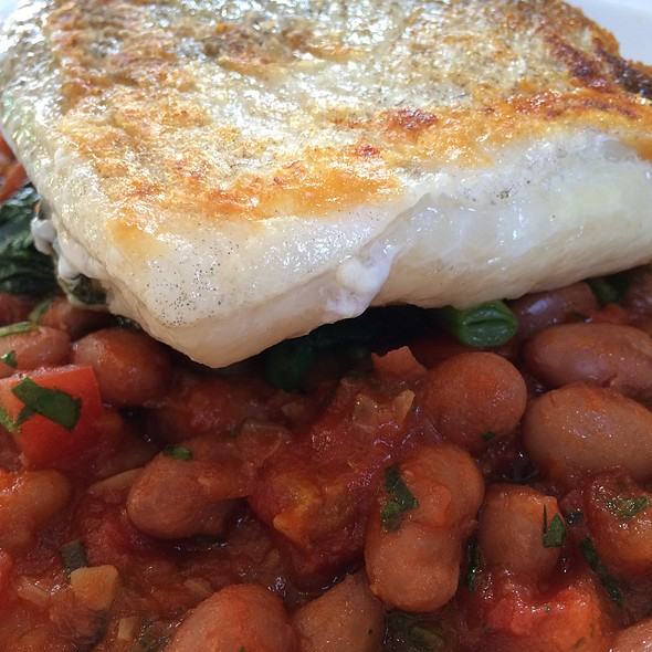 Fish And Beans - The Peasant, London