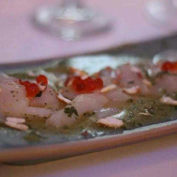 Maine Sea Scallop Tiradito - Oceanaire Seafood Room - Miami, Miami, FL