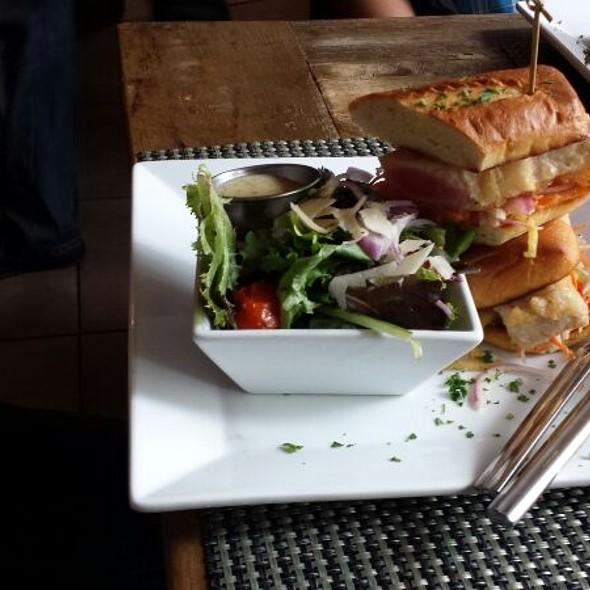 Crispy Tuna Sandwich - Bridge House Tavern, Chicago, IL