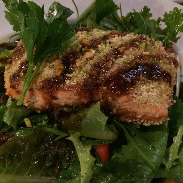 Sesame Crusted Salmon Salad - Aberfoyle Mill, Guelph, ON