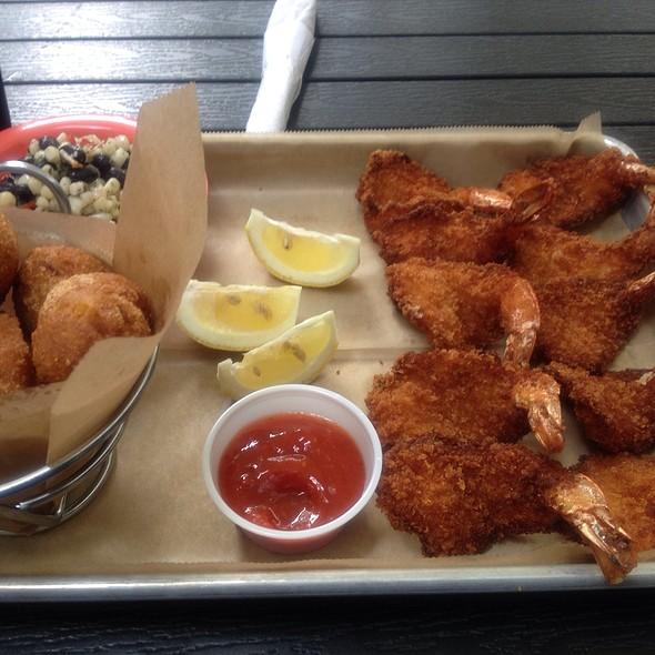 fried jumbo shrimp platter - Big Kahuna, Atlanta, GA