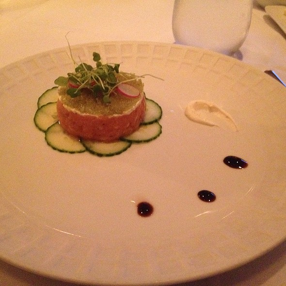 Scottish Salmon Tartare - Restaurant Lorena's, Maplewood, NJ