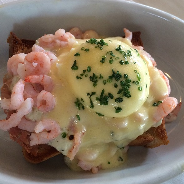 Bay Shrimp & Benedictine On Toast - Irving St Kitchen, Portland, OR