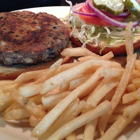 Veggie Burger - Rock Bottom Brewery Restaurant - Boston, Boston, MA