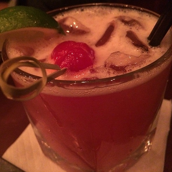 75b495b8cac8 Fresh Berry Margarita - The Brass Rail Hoboken NJ