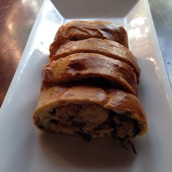 Amuse Bouche- Sausage & Meatball Stromboli - Gabriele's Italian Steakhouse, Greenwich, CT