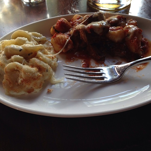 Mac & Cheese And Baked Gnocchi - Gabriele's Italian Steakhouse, Greenwich, CT