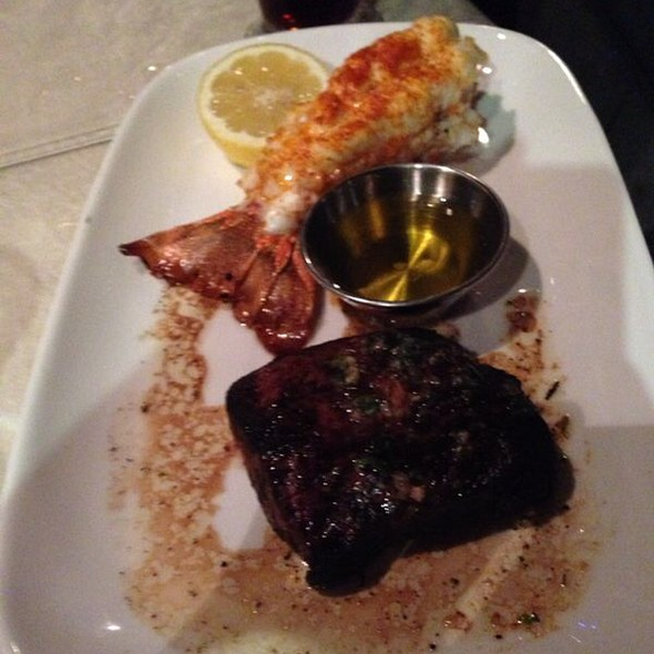 Steak and Lobster Tail - Lou & Mickey's, San Diego, CA