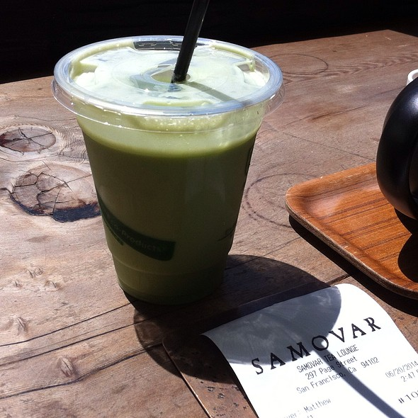 Matcha Shake - Samovar Tea Lounge - Zen Valley, San Francisco, CA