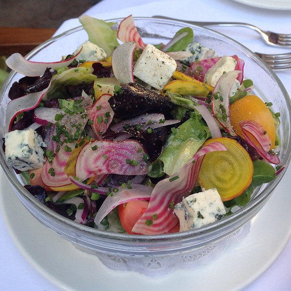 Mixed Green Salad - Brasserie Ruhlmann, New York, NY