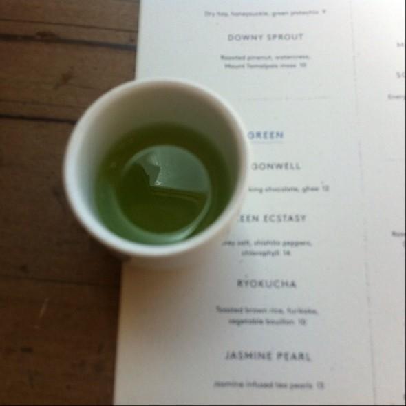 Green Ecstasy - Samovar Tea Lounge - Zen Valley, San Francisco, CA