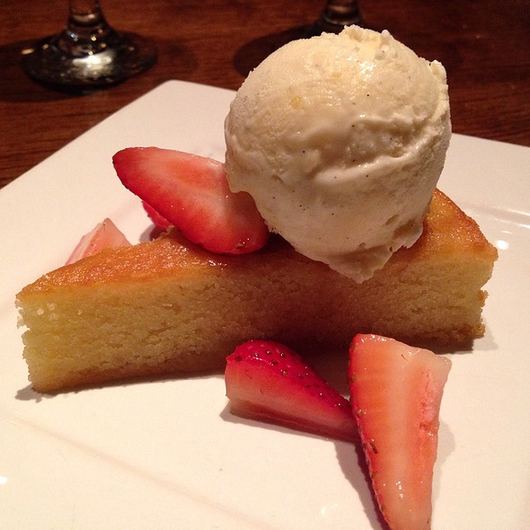 Almond Pound Cake - Tin Angel, Nashville, TN