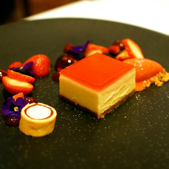 Strawberry Cheesecake - The Square, London