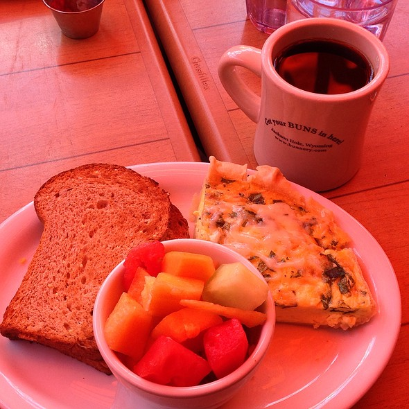 Quiche Florentine - The Bunnery Bakery & Restaurant, Jackson, WY