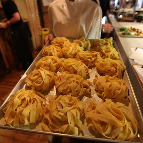 Fresh In House Made Pasta - Cibo Wine Bar King St West, Toronto, ON