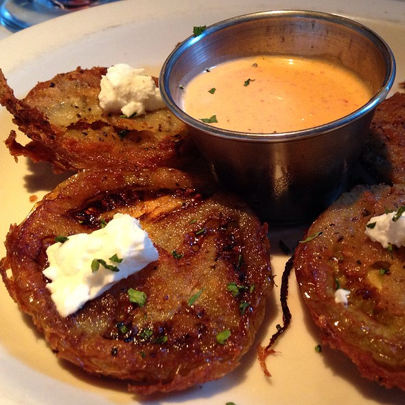 Fried Green Tomatoes - Germantown Cafe, Nashville, TN
