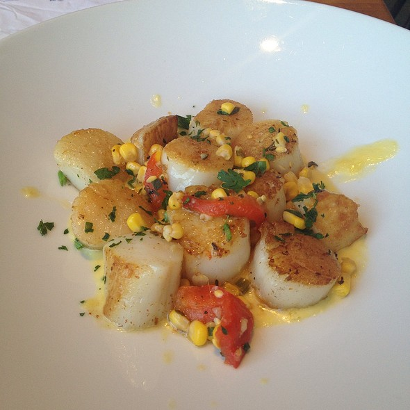 Seared Scallops - Sea Watch Restaurant, Fort Lauderdale, FL