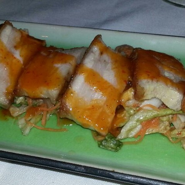 Crispy Pork Belly - Verve Restaurant, Somerville, NJ