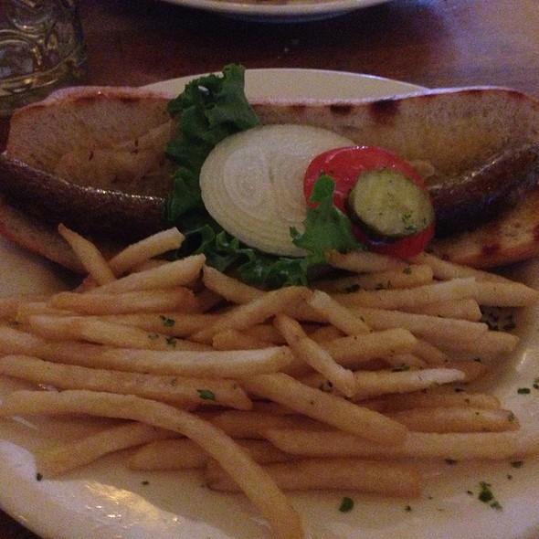 Bratwurst Sandwich - Hofbräuhaus - Las Vegas, Las Vegas, NV
