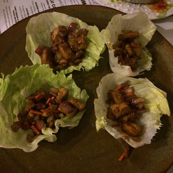 Veggie Lettuce Wraps - Blue Bamboo Restaurant and Wine Bar, Jacksonville, FL