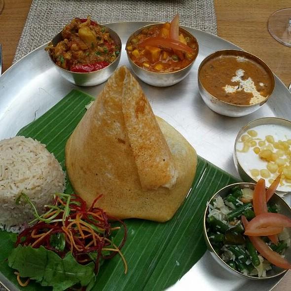 vegetable thali - Babur, London